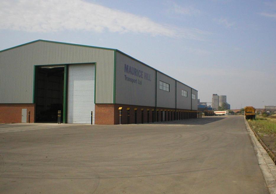 Производствена сграда под наем