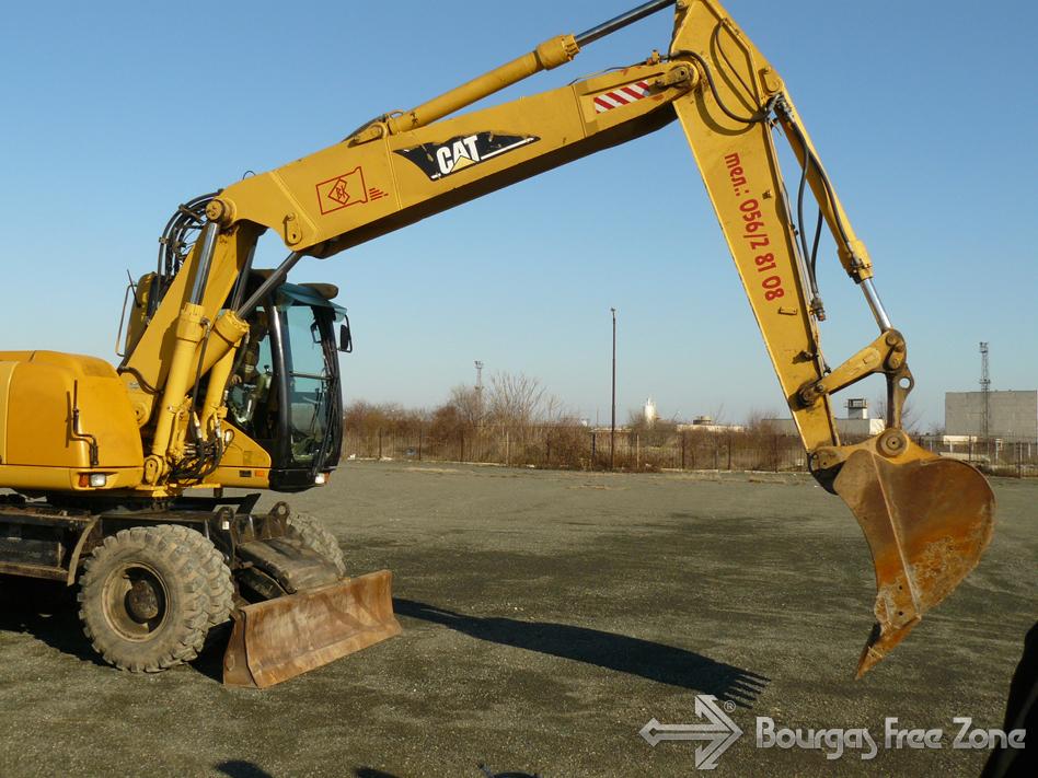 Първа копка на нов склад в Свободна зона Бургас
