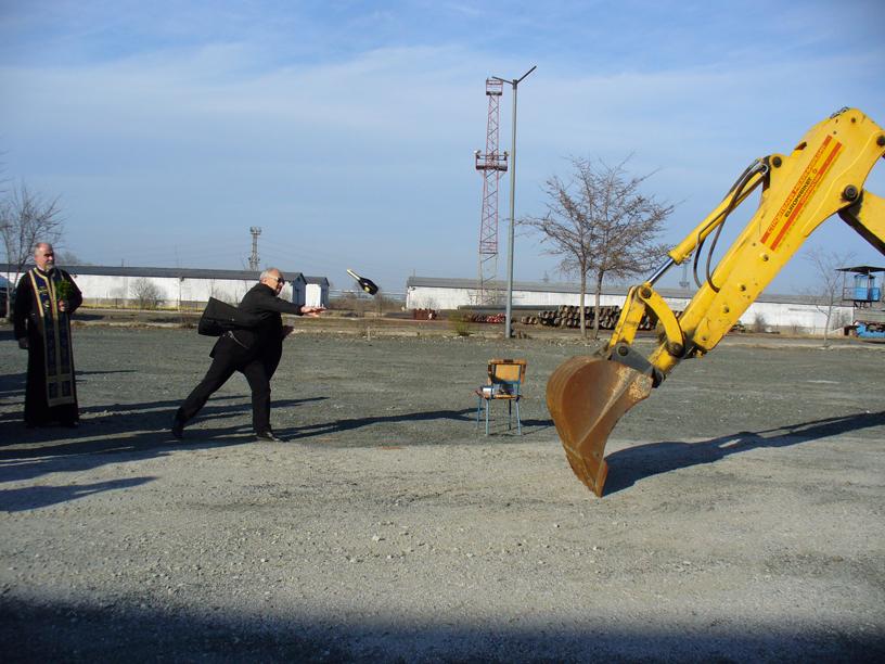 Стартира строителството на нов склад в Свободна зона Бургас