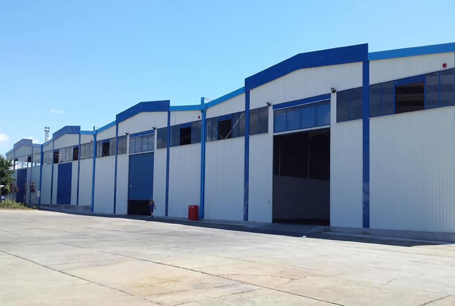 Новопостроен склад в Свободна зона Бургас