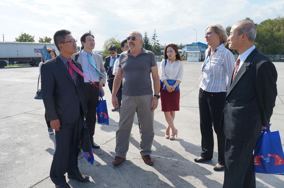 Посещение на Корейска делегация в Свободна зона Бургас