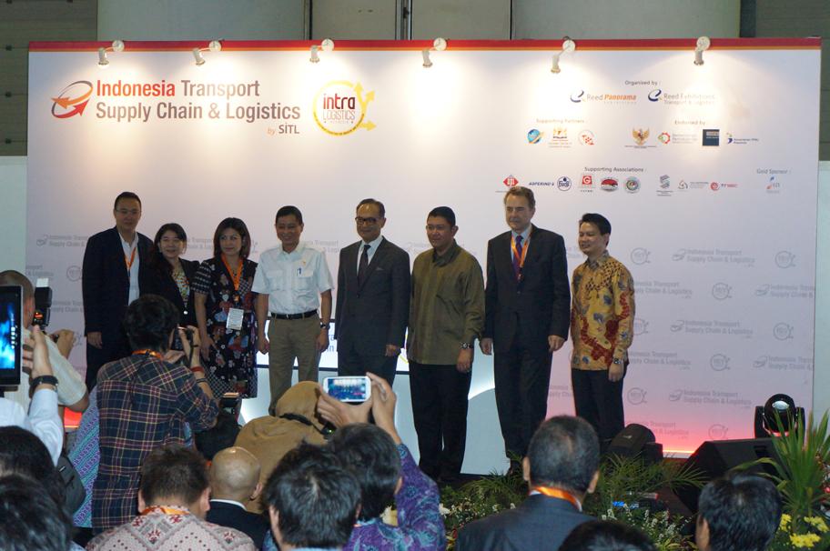 Свободна зона Бургас на изложение Intralogistics Indonesia