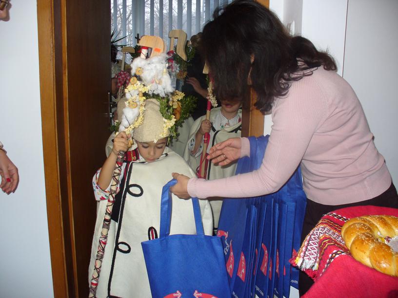Коледари в Свободна зона Бургас