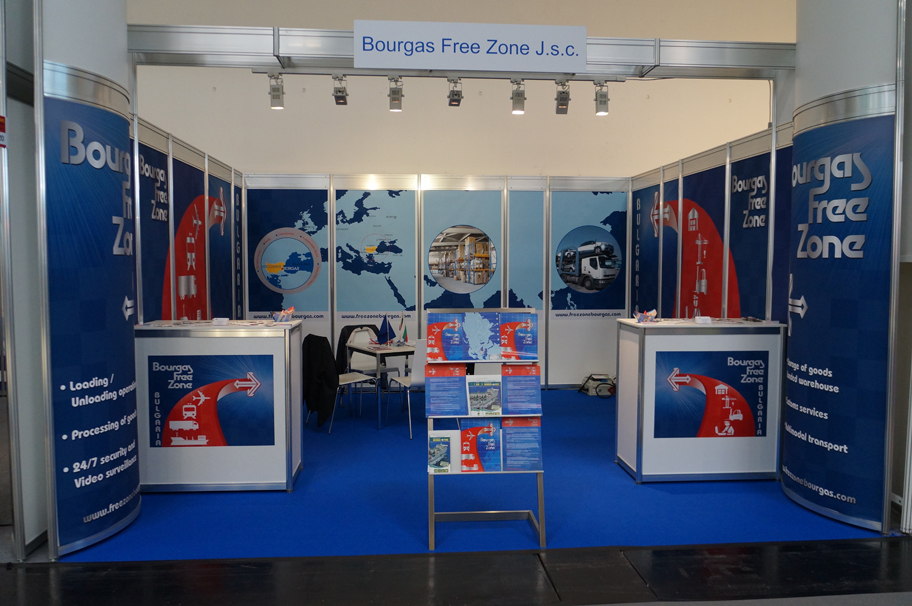 Свободна зона Бургас участва в най-мащабното изложение transport logistic 2015 в Мюнхен
