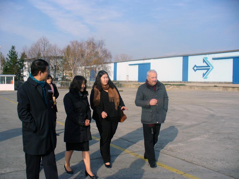 Корейска бизнес делегация посети Свободна зона Бургас