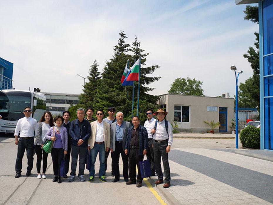 Бизнес среща с корейски компании