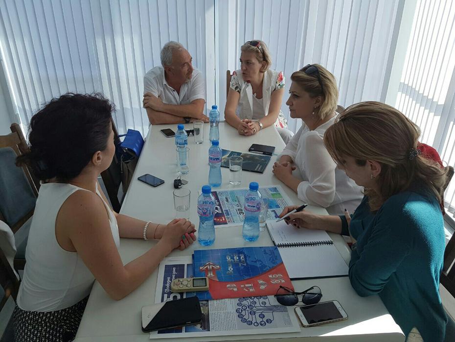 Представители на Световната организация на Свободните Зони посетиха логистичен терминал Свободна Зона Бургас