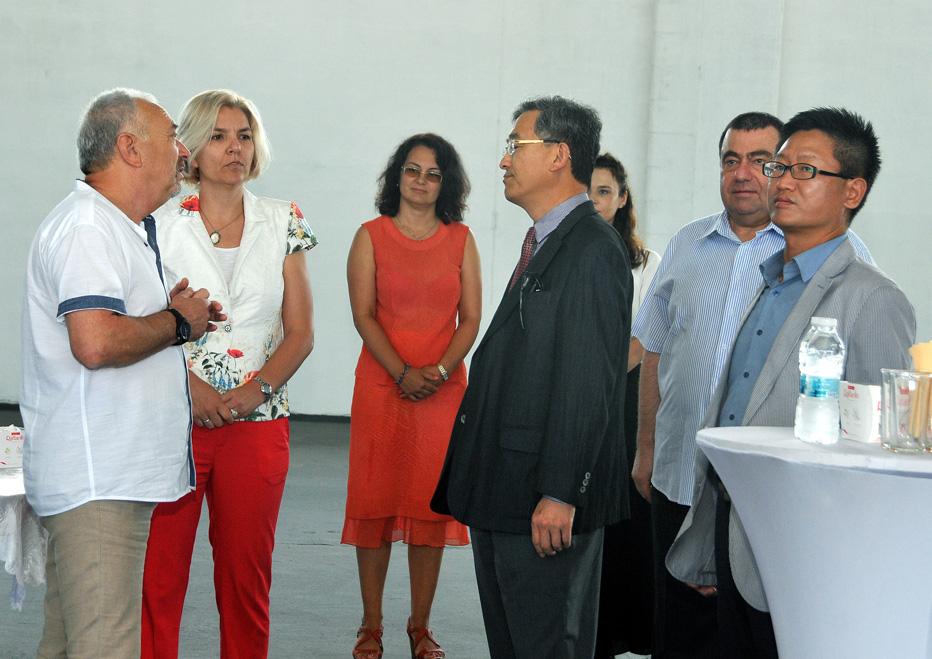 Свободна Зона Бургас прие делегация от Посолството на Република Корея в България