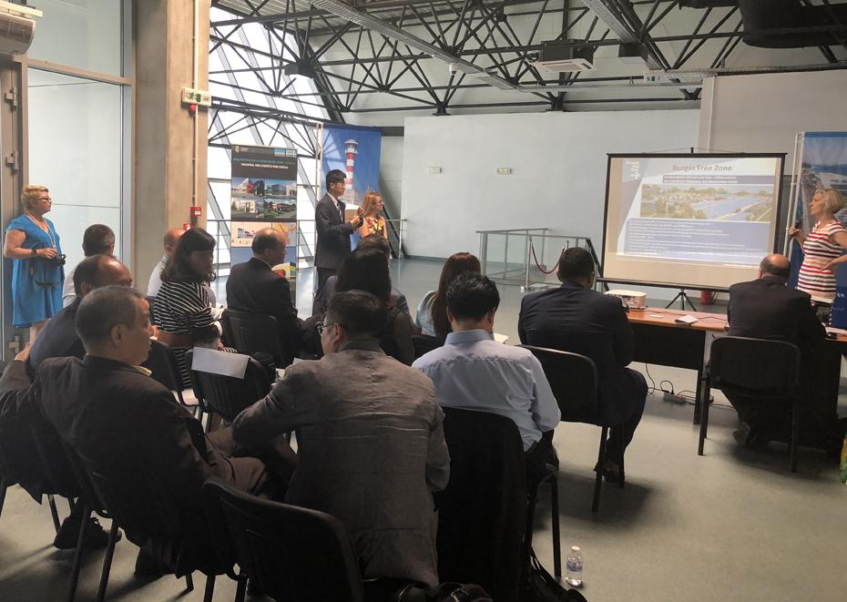 Делегация от Пилотната Китайска (Шанхайска) зона за свободна търговия, КНР посети Бургас