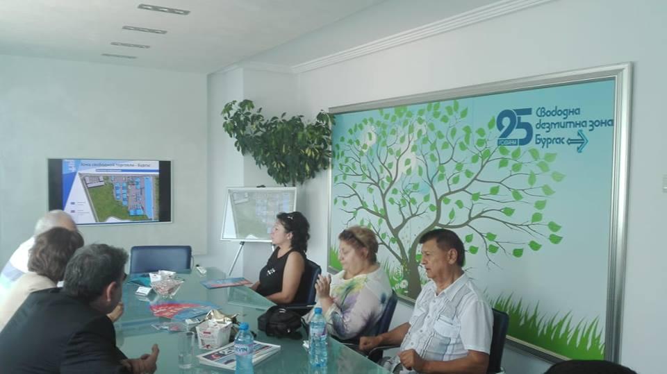 Бизнес делегация от Русия в Бургас